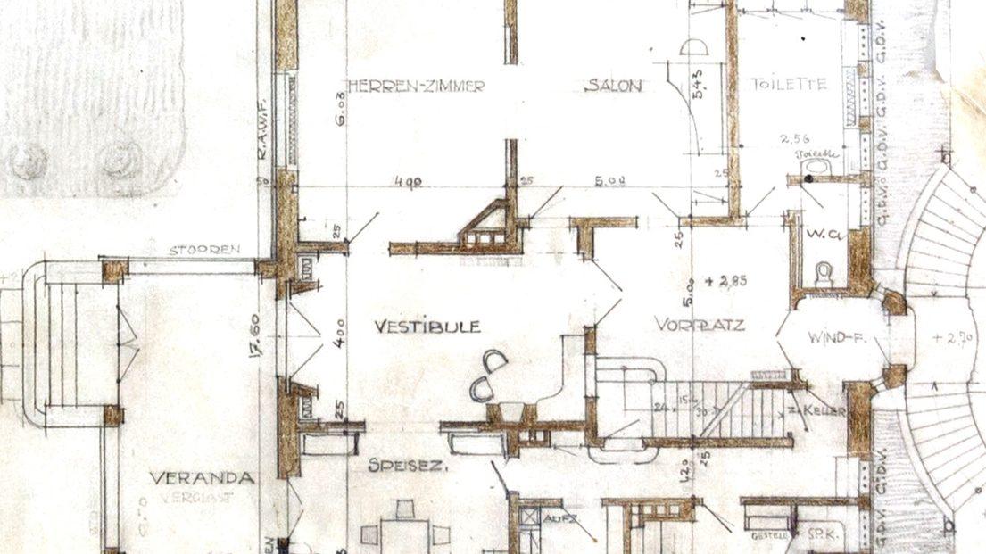 Floor Plan of Keller