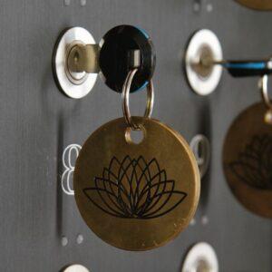 Schlüssel am Schlüsselbrett - Signau House and Garden Boutique Hotel Zürich